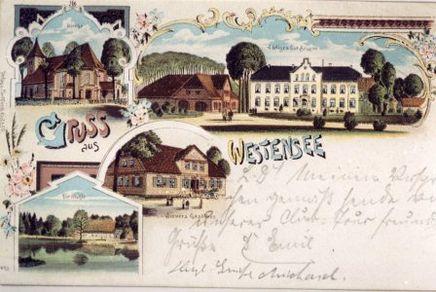 Postkarte - Gruß aus Westensee