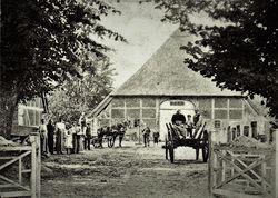 Altes Bild einer Stamper Hofstelle