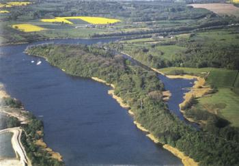 Luftbild vom Flemhuder See