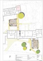 Entwurfszeichnung Schulerweiterung
