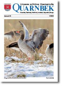 """Titelbild der Zeitung """"Unsere schöne Gemeinde Quarnbek"""""""